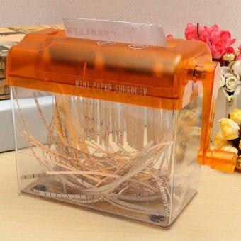 Tangan mekanik mesin penghancur kertas Mini portabel Quilling Fringer alat lurus memotong jeruk - Internasional