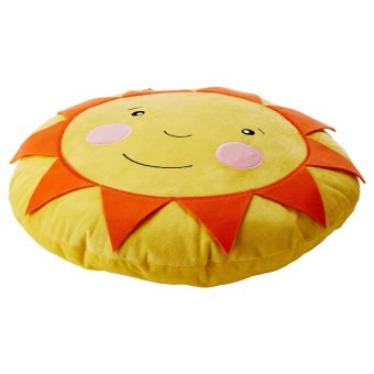 Ikea Solight Bantal Anak Bentuk Matahari 40cm - Orange ...