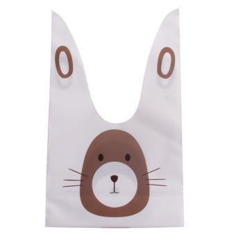 Jual 100pcs Little Monster Candy&cookie Self Adhesive Plastic Bag Source · LALANG 20pcs Rabbit Ear Plastic
