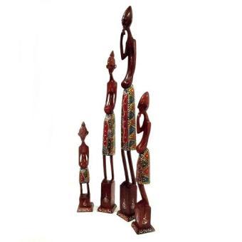 Mendekor Kolepon pajangan hiasan meja telepon unik vintage shabby dekorasi. 1 Set Pajangan Patung Tanimar