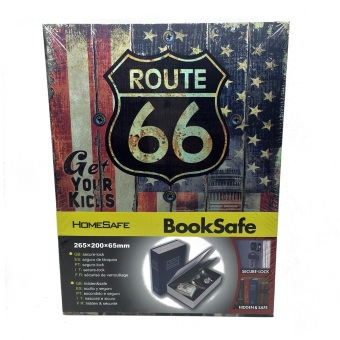 Harga ZELL Book Safety Box Large - Route 66