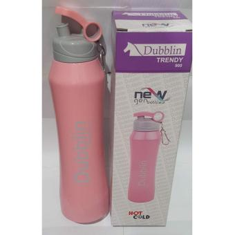 Harga Termos Dubblin Durosteel/Termos air Cold n Hot Trendy - Pink