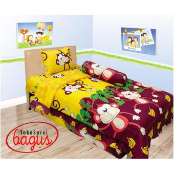 Harga Sprei internl single 120 monkey