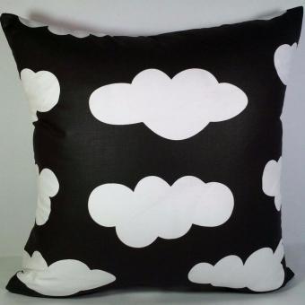 Shafiyyah.Sarban Sarung Bantal Sofa / Kursi 40x40 motif Pop Line. Sarung Bantal Sofa