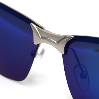 Mode Pria Terpolarisasi Mengemudi Kacamata Hitam Anti-Silau Olahraga Luar Ruangan Kacamata .