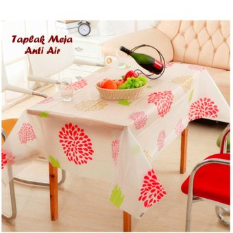 Harga Taplak Meja / Taplak Meja Anti Air / Taplak Meja Motif Anti Air - Sunflower