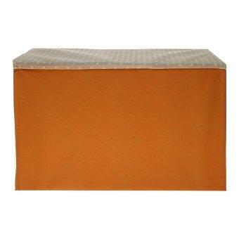 AIUEO Rak Kain Tempat Penyimpanan Serbaguna CC024 - Orange - 3 .