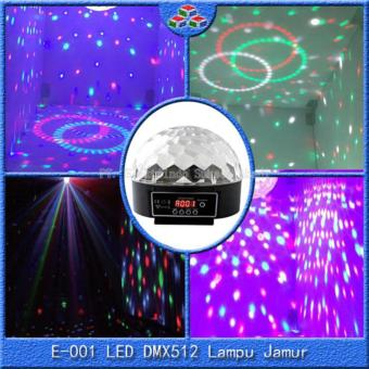 Harga crystal magic ball lampu disco