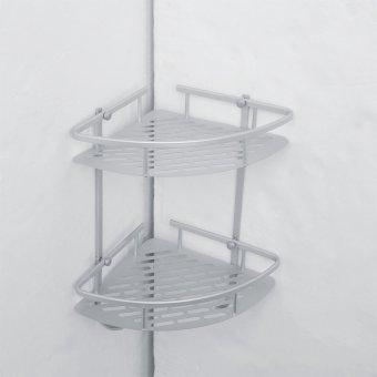 Detail Gambar Ruang segitiga dinding aluminium kamar mandi sampo sabun mandi kosmetik rak .