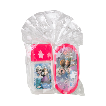 Harga Disney Frozen Lunch Box Set Pink