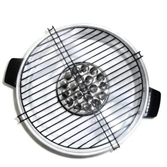 Harga Maspion Fancy Grill 33 Cm - Silver