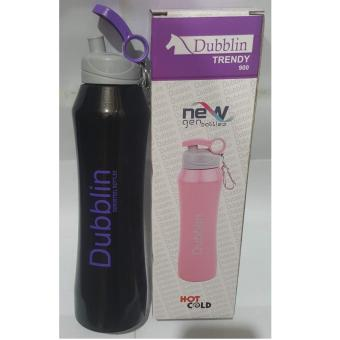Harga Termos Dubblin Durosteel Cold & Hot/Termos Air Durosteel Trendy - Hitam