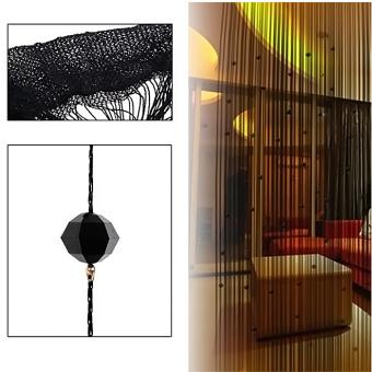 Imitasi Bermanik-Manik Kristal Rumbai Tali Tirai Jendela RumahDekorasi Pintu Pembagi 1 m X 2 · >>>>