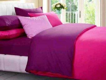 Jual Bedcover Set Jaxine Polos Katun Prada Abu abu Hitam Source · Jaxine Bed Cover Katun Prada Tanpa Sprei Fanta Purple