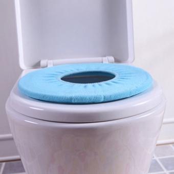 ... Jiayiqi o berbentuk hangat toilet duduk untuk menutupi kamarmandinya ( acak) - 5