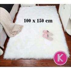 Kain Bulu Rasfur Lembut ukuran 100x150cm / Kain Bulu Untuk Alas Foto, Alas Sofa atau Bahan Karpet