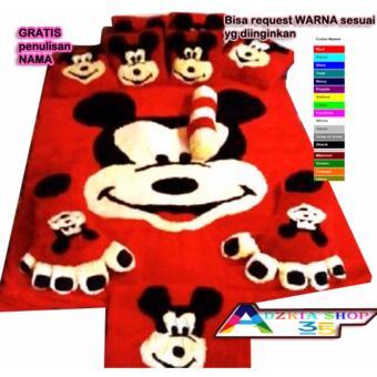 kasur karpet karakter mickey standart - 4