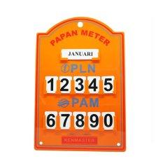 Kenmaster Plastik Stand Meter PLN ( Warna Random )