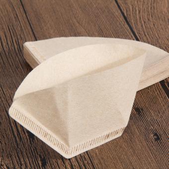 ... Kertas Filter kopi untuk 101 kopi tangan-menuangkan secangkir kopi Drip penyaring kopi 40 buah