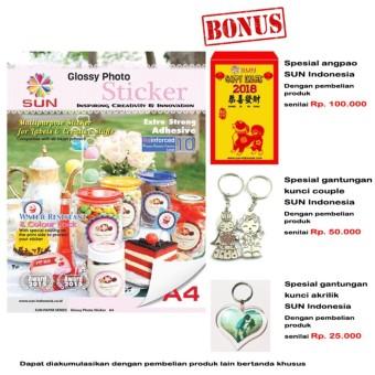 ... Kelebihan E Print Glossy Sticker A4 135gsm Bundling 2pcs Dan Source Kertas Sticker SUN Next Generation