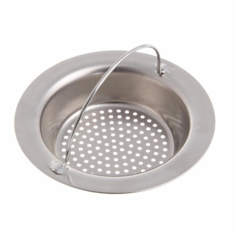 ... Kitchen Sink Strainer Waste Plug Drain Stopper Filter BasketStainless Steel - intl - 3 ...