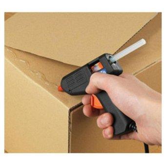 Laris 102 - Alat Lem Tembak Glue Gun Stick Cair Lengket Refill Alat Membakar Melelehkan - 2 Pcs - Black - 3