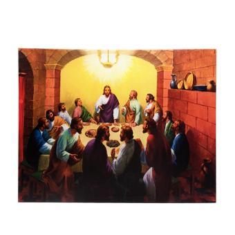 Lukisan Hiasan Bingkai Dinding Natal Frame 12 Apostle (Murid) 1709-03