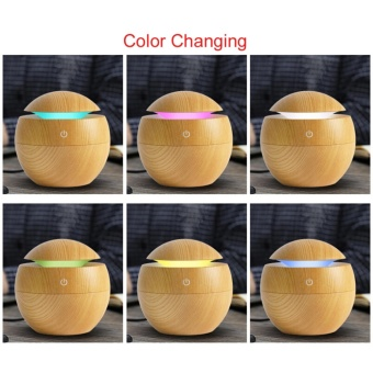 Mini Ultrasonic Air Humidifier Aroma Therapy. Source · Detail Gambar Lycheeroma Wooden USB Portable Essential Oil Diffuser Mist Maker(Brown) - intl