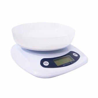 Lynx Timbangan Dapur Digital Electronic Kitchen Scale 7 Kg denganMangkok · >>>>