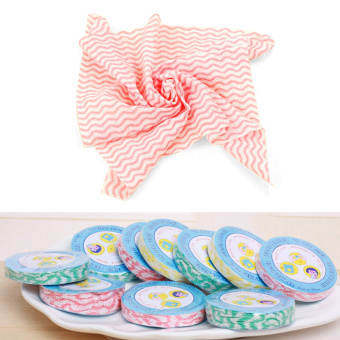 Magic Towel Handuk Mini untuk Travel - 5 Pcs