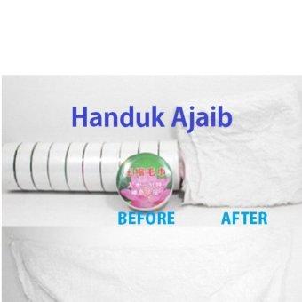 Magic Towel Travel Handuk Ajaib Anduk Muka, Leher, Kain Kompres, Sapu Tangan -