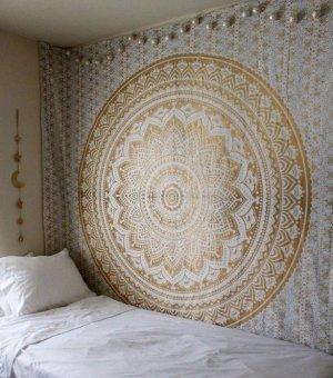 Mandala Hippie Tapestry Hippie Wall Hanging Tapestries Summer Beach Towel Shawls Yoga Mat .