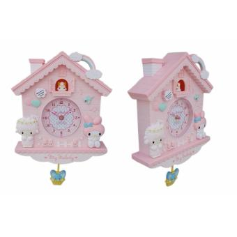 ... Melody Rumah Burung Karakter Jam Dinding