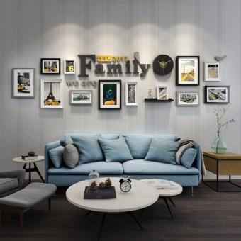 harga Modern Jianyue ruang tamu besar dinding Bingkai foto foto foto dinding dinding Lazada.co.id