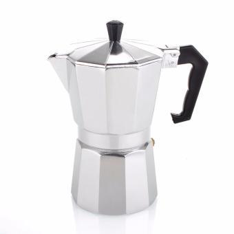 Mokapot Aluminium /Espresso Maker for 6 Cups