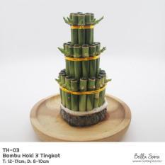 (Murah) Bambu Rejeki Hoki Pagoda Medium TH03