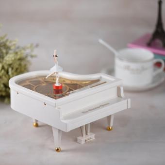 Music Box Piano - Kotak Musik Piano - Ballerina Piano Music Box - 2