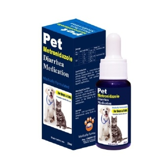 Obat Hewan Pet Metronidazole Diarrhea Medication