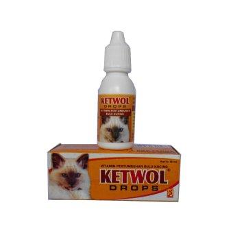 Obat Hewan Vitamin Bulu Kucing Ketwol Drops | Lazada Indonesia
