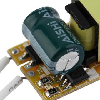 OH tidak tahan air catu daya Chip LED sopir trafo AC 85-265 V 3 watt - Internasional - 3