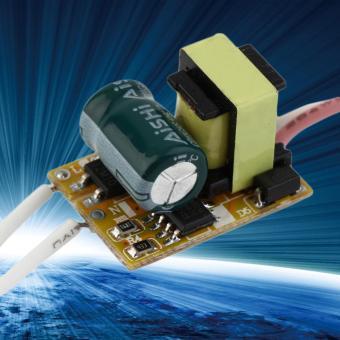 OH tidak tahan air catu daya Chip LED sopir trafo AC 85-265 V 3 watt - Internasional - 5