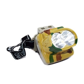 OHOME Lampu Kepala Headlamp LED Super Bright - MS-YJ3806A-W