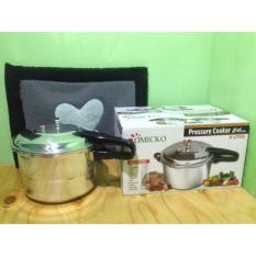 Omicko Pressure Cooker / Panci Presto 24 cm 8 Liter