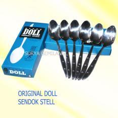 Original Sendok Makan Super Doll Steanles Stell Isi 6 Pc