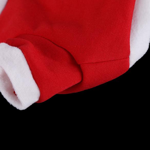 ... Pakaian Hewan Peliharaan Kucing Anjing Kata Cetak Merah T-Shirt Xmas Lapisan Kaos Ukuran S ...