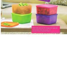 Pink Orange Hijau Source PALING DICARI Tupperware Small Summer Fresh Wadah Tempat Makan .