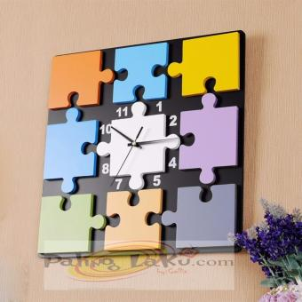 Paling Laku Jam Dinding Unik Puzzle desain - 003