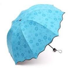 Payung Lipat MAGIC 3D Berubah Motif Ketika Basah
