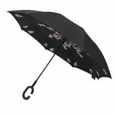 Payung terbalik / Kazbrella motif Bunga (01)