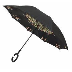 Payung terbalik / Kazbrella motif Daun (05)
